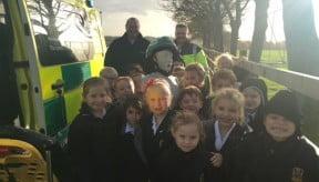 Emergency medical awareness for younger pupils