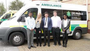 Launch of ERS Medical's Apprenticeship scheme with YMCA