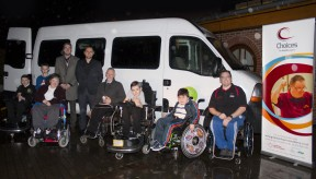 ERS Medical donates vehicle to Greenbank