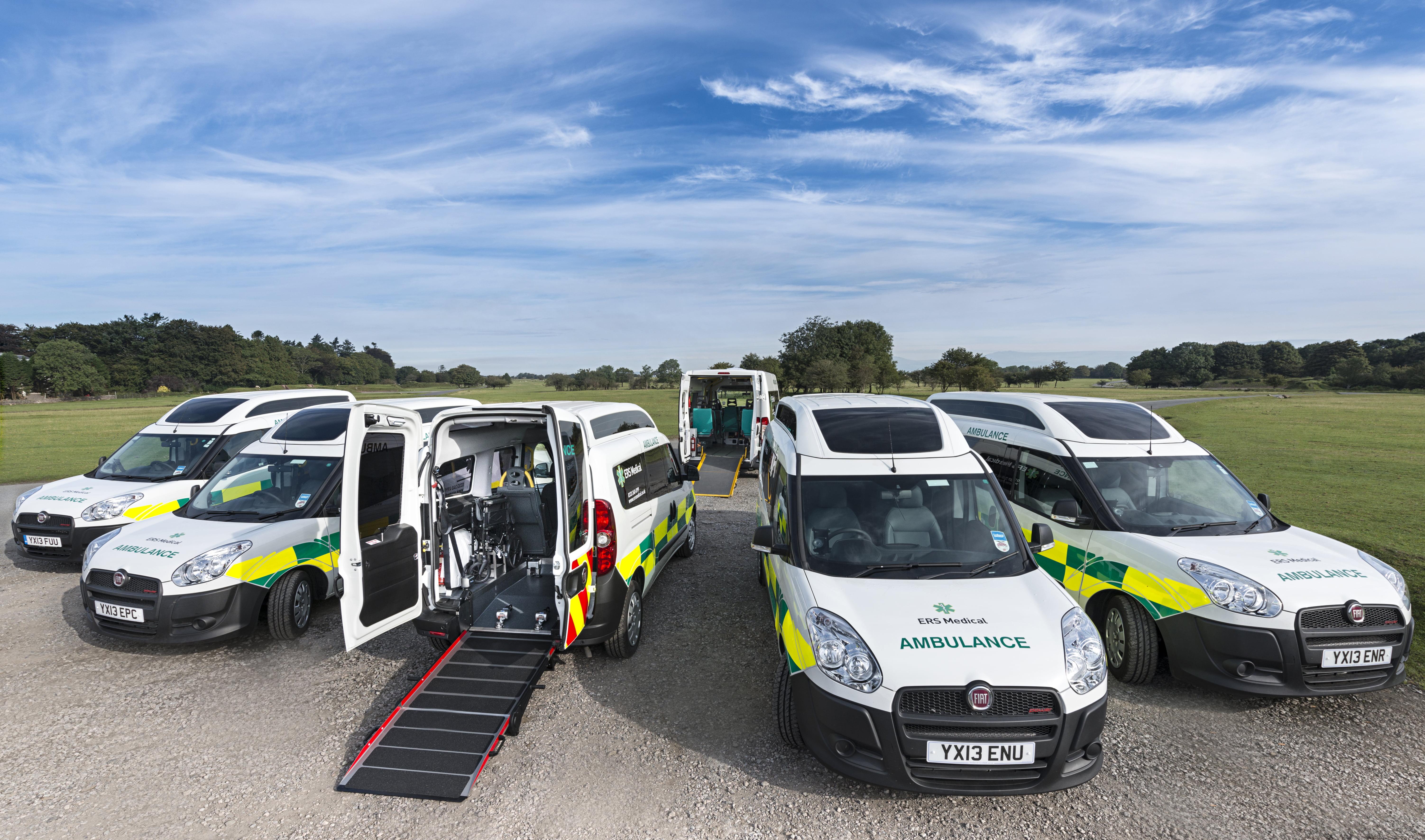 ERS Medical Ambulance Patient Transport