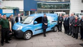 Electric Van Launch