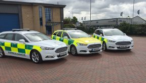 New rapid response vehicles join ERS Medical fleet