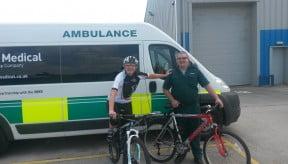 ERS Medical Supports National Bike to Work Week 2015
