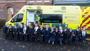 School visits in Cheshire for Road Safety Week