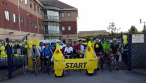 Tour De Stericycle – 5 Days, 10 Stages, 505 Miles