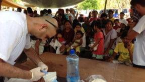 Providing emergency relief internationally